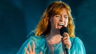 Florence + The Machine Wraps Listeners In A Warm Melodic Blanket On The Stunning 'Sky Full Of Song'