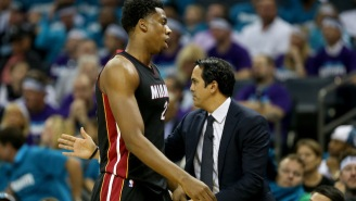 Erik Spoelstra Wants Hassan Whiteside To 'Reach His Dreams' With The Heat