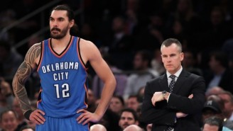 Billy Donovan Thinks Steven Adams Has Been On The 'Difficult End' Of The Refs' Whistle Against Utah