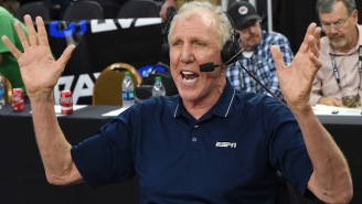 Bill Walton's Preview Of The National Title Game Compared Michigan To The Alamo