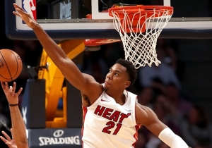 Hassan Whiteside Again Lamented His Lack Of Playing Time After Miami's Season-Ending Loss