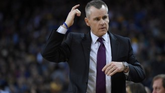 Billy Donovan Asked ESPN's Adam Schefter For NFL Draft Advice During A Playoff Game