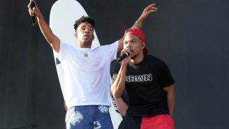Chance The Rapper Joins KYLE Live On Stage At Coachella To Perform 'iSpy'