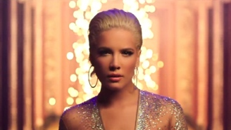 Halsey Feels 'Alone' At A Flashy Party In Her New Video Featuring Big Sean And Stefflon Don