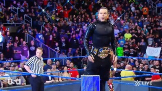 The United States Championship Found Its Way Back To Smackdown In The Superstar Shake-Up