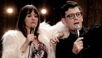 Natasha Leggero And Moshe Kasher Explain Why They Say Mean Things To Their Kid