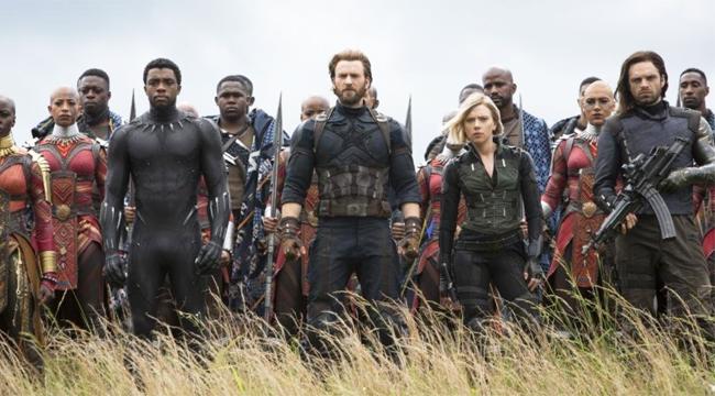 avengers infinity war trailer scenes