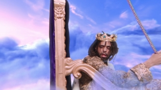 J. Cole Holds The Key To A Purple Paradise In The Surreal 'ATM' Video