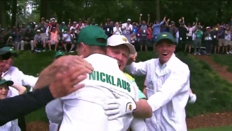 Jack Nicklaus' Grandson Made A Hole-In-One At The Masters Par 3 Contest