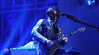 Jack White Tears Into 'Over And Over And Over' On 'Saturday Night Live'