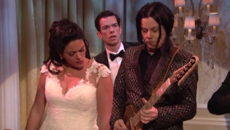 Jack White Appears As 'The Third Man' In This Cut For Time SNL Sketch