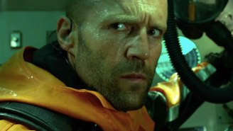 Jason Statham Fights A Giant Shark In The Exquisitely Goofy 'The Meg' Trailer