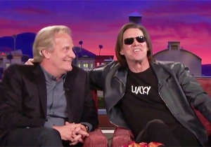 Jim Carrey Surprised Jeff Daniels In The Middle Of His 'Conan' Interview For A 'Dumb And Dumber' Reunion