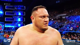 Samoa Joe Is Bringing The Pain To Smackdown In The Superstar Shake-up