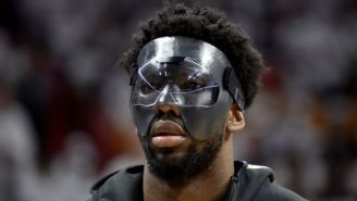 Joel Embiid Vows He'll 'Be A Nightmare' For The Heat The Rest Of The Series