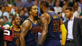 J.R. Smith Thinks LeBron James Passed Michael Jordan Two Years Ago