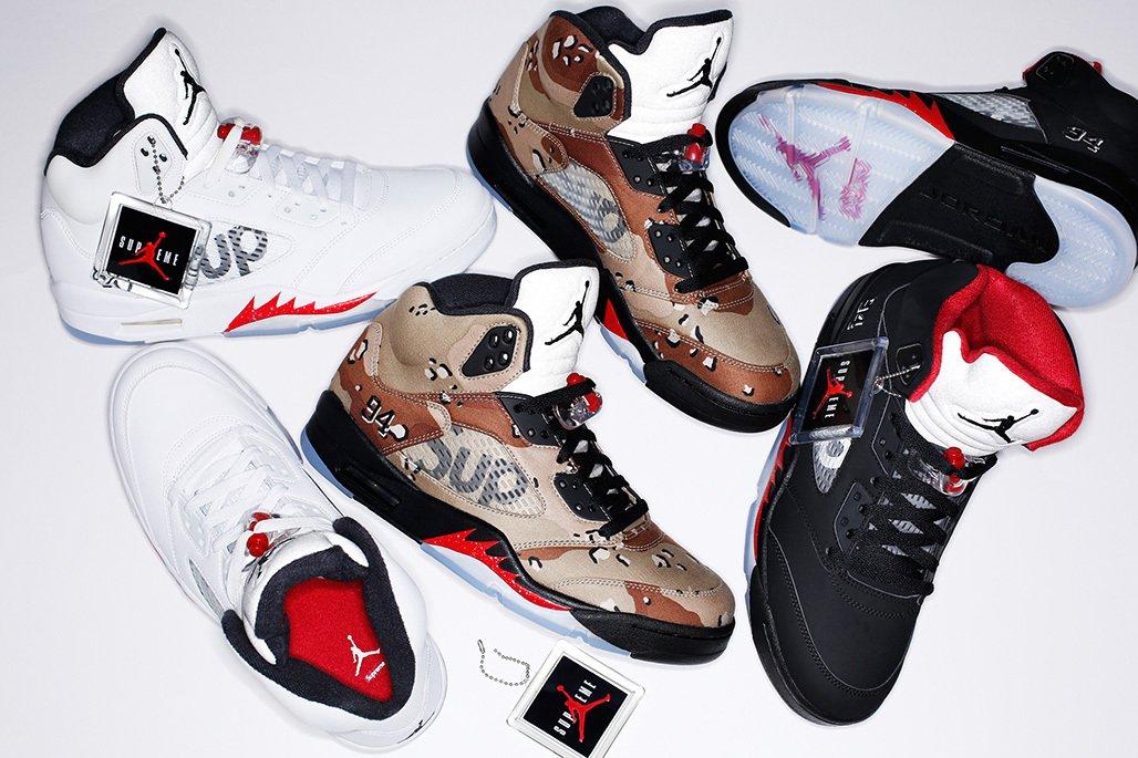 Supreme x Nike Air Jordan 5