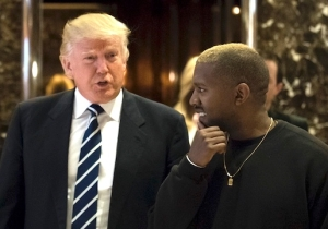 Kanye West Calls Donald Trump His 'Brother' But Says He Loves Hillary Clinton Too