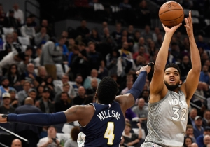 The Timberwolves Won An Overtime Thriller Against The Nuggets For The Final Playoff Spot In The West