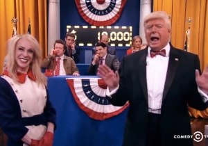 Kathy Griffin Debuted Her Uncanny Kellyanne Conway Impersonation On The 'President Show' Special