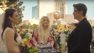 Kesha Officiates A Same-Sex Marriage In Her Moving 'I Need A Woman To Love' Video