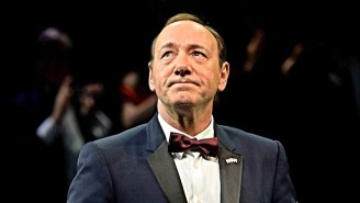 Kevin Spacey Made His First Public Appearance In Ages By Reading A Poem About An Ostracized Boxer