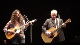 John Prine Brings Kurt Vile On Stage For A Pair Of Gentle Acoustic Duets In Philadelphia