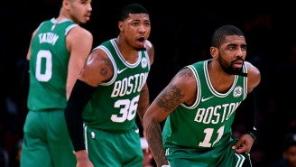 Brad Stevens Says Boston Can't Expect Kyrie Irving Or Marcus Smart To Be Back 'Anytime Soon'