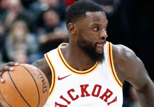 The Pacers Allowed An Easy Dunk Because Lance Stephenson Was Celebrating Blocking Dwight Howard