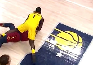 Lance Stephenson Went Full Lance Stephenson Late With A Takedown Of Jeff Green