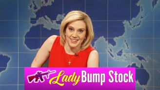 Kate McKinnon's Laura Ingraham Stops By 'Weekend Update' To Brag About Some Weird New Sponsors