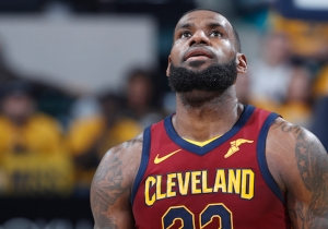LeBron James Gets Just Enough Help In Game 4 To Even The Series With The Pacers