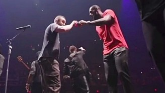 LeBron James Hopped On Stage With Justin Timberlake To Take A Shot At His Cleveland Show
