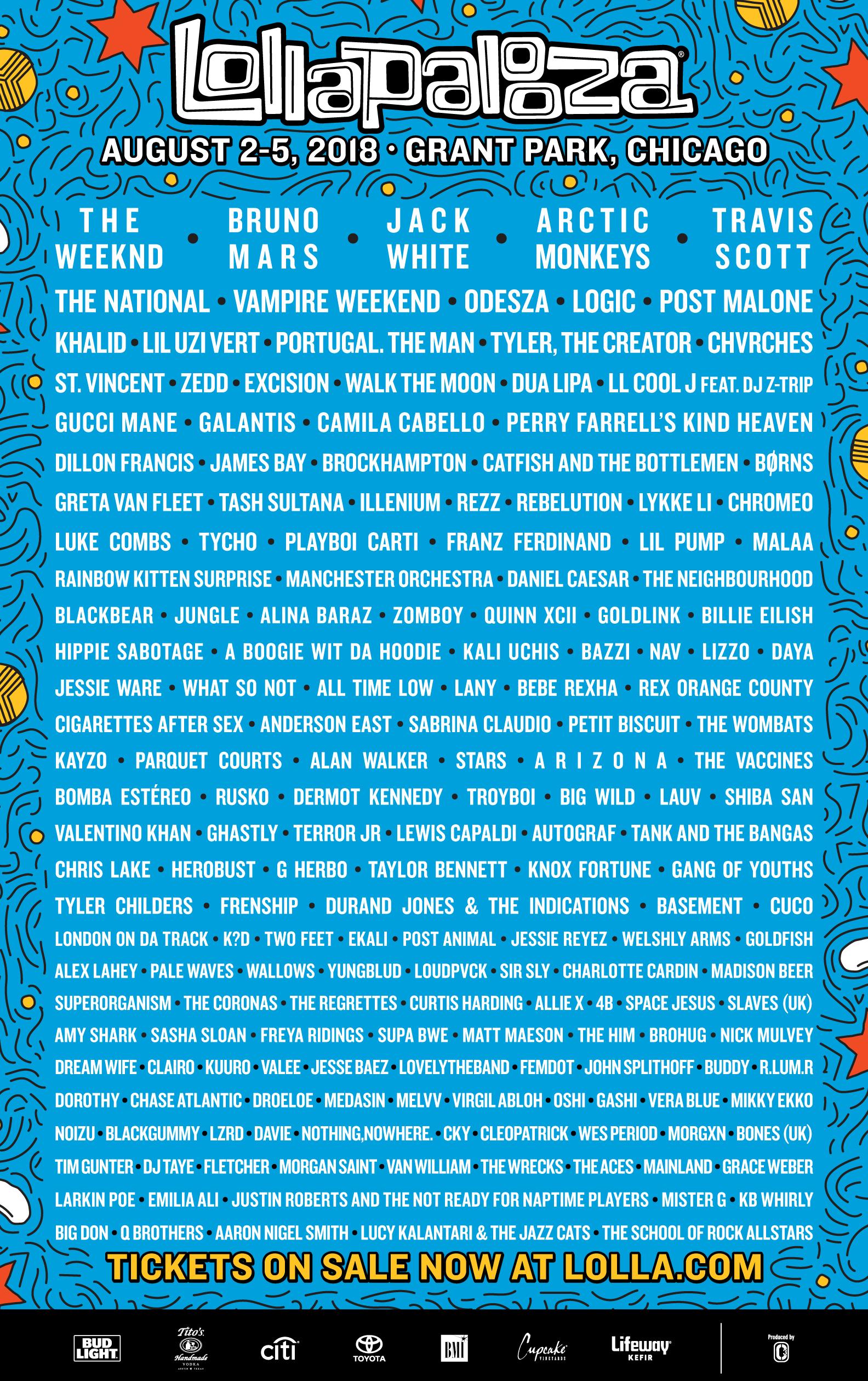 best music festivals summer 2018