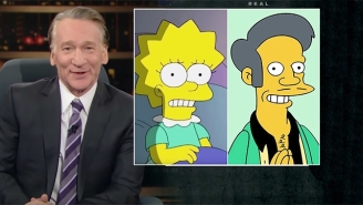 Bill Maher Applauds The Way 'The Simpsons' Addressed The Apu Controversy