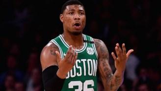 Marcus Smart Thinks The Celtics Are 'Playing Like Punks' This Season