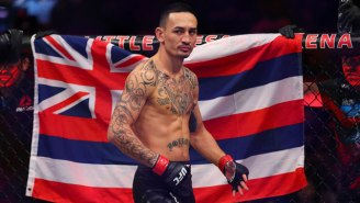 Max Holloway Will Move Up To Fight For the Interim Lightweight Title At UFC 236