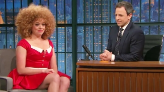 Seth Meyers Defends His Former 'Late Night' Co-Worker Michelle Wolf: 'Sarah Huckabee Sanders Got Off Easy'