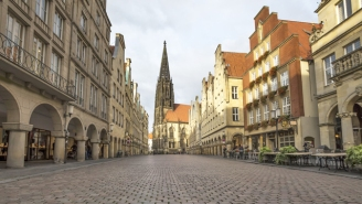 A Van Plowed Into A Crowd Of Pedestrians In Muenster, Germany, Killing Multiple People And Injuring At Least 20