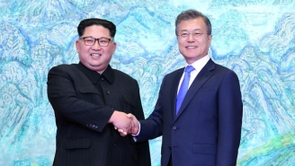 North Korea's Kim Jong-Un Has Crossed The DMZ For Historic Talks With South Korea