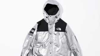 Supreme And The North Face Deliver Shiny Metallic Looks For Spring