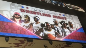 The New Orleans Pelicans Completely Botched 'Wrestling Night'