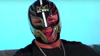 Rey Mysterio Says His Contract Negotiations With WWE Are 'Up In The Air'