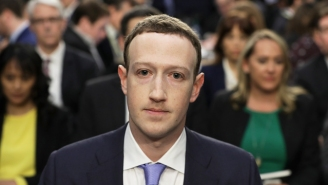 Mark Zuckerberg's 'Kill Me Now' Face On Capitol Hill Got Absolutely Roasted