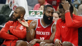 Chris Paul Reportedly 'Cherishes' The Minutes He Plays With James Harden On The Bench