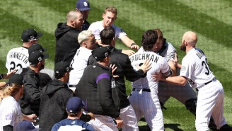 The Rockies And Padres Gave Us Our First All-Out Baseball Brawl Of The 2018 Season