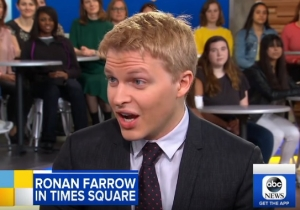 Ronan Farrow: Hillary Clinton Tried To Cancel An Interview After Learning About The Harvey Weinstein Story