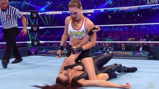 Ronda Rousey's WWE Debut At WrestleMania Was Incredible