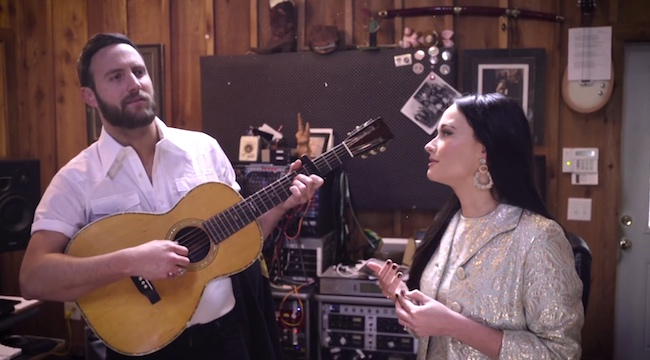 WATCH] Kacey Musgraves And Ruston Kelly's Johnny Cash Love Song