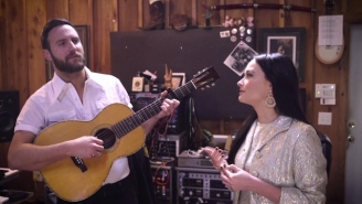 Watch Kacey Musgraves And Her Husband Ruston Kelly Turn A Johnny Cash Poem Into A Moving Love Song
